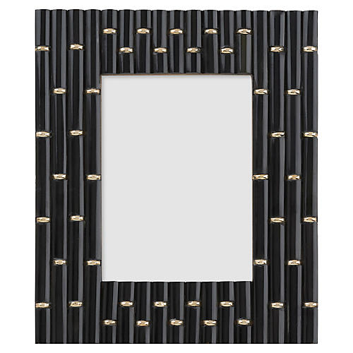5x7 Clifford Links Picture Frame, Black/Gold