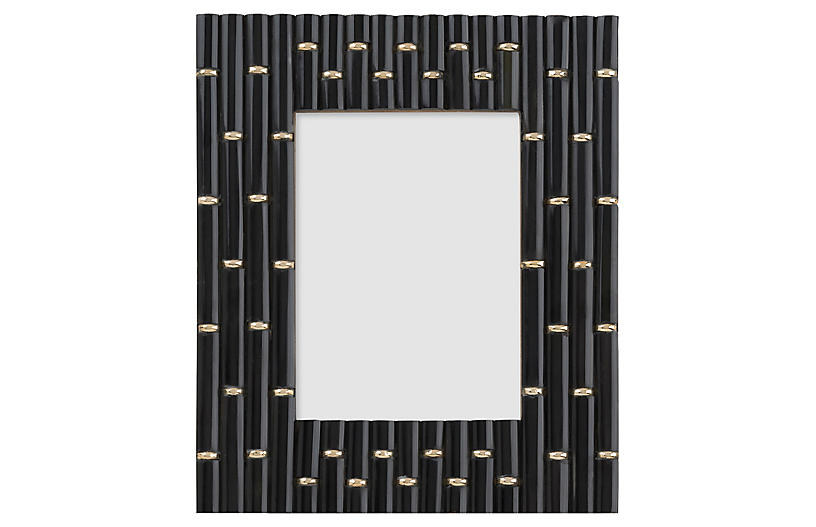 5x7 Clifford Links Picture Frame, Black/Gold - Picture Frames - Home ...
