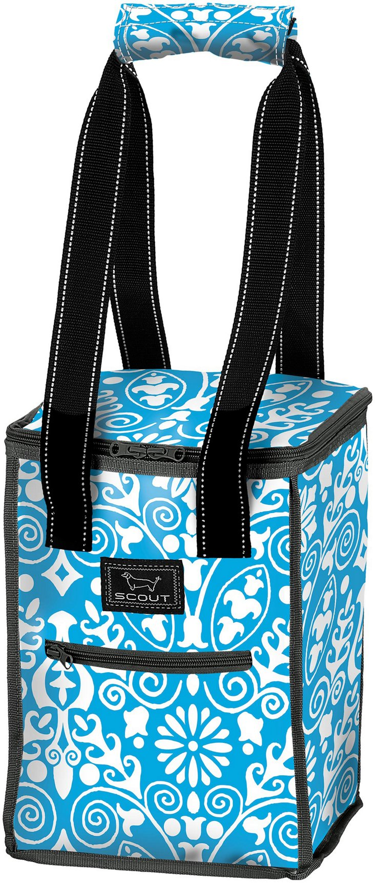 Insulated Chest, Blue/White