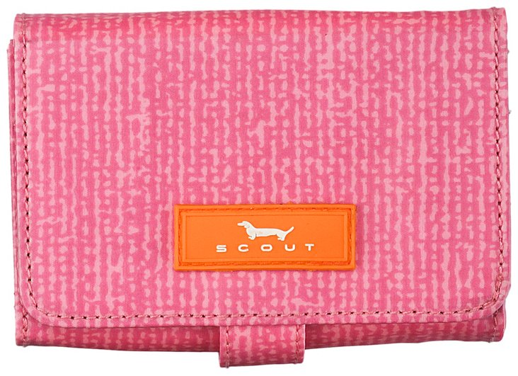Wallet with Snap Closure, Pink