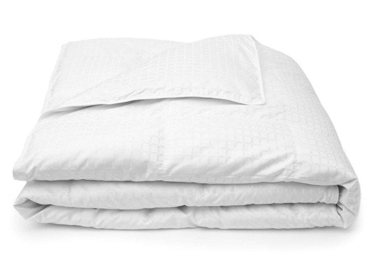 "Marquessa Lite 12"" Baffle Comforter, Wh"