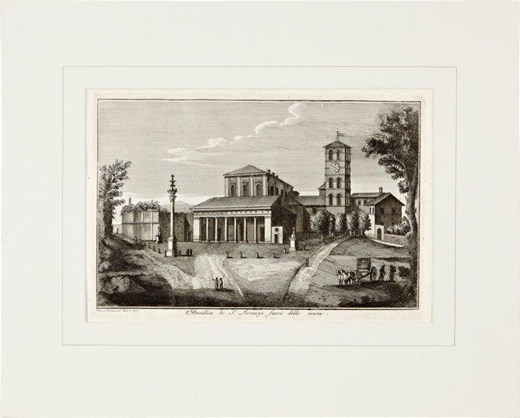 Piranesi Etching of Rome VI