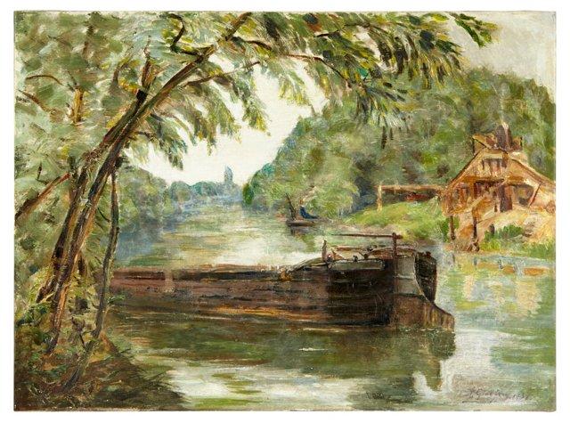 R. Godefroy, River Barge