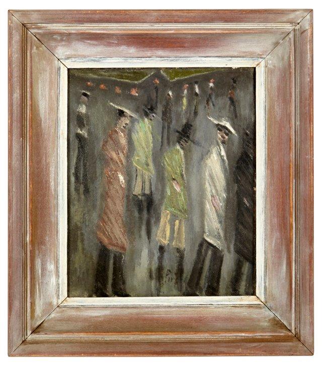 P. Pieck, Figures in Rain