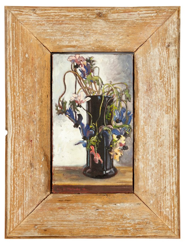 G. Malherbe, Bouquet of Wildflowers