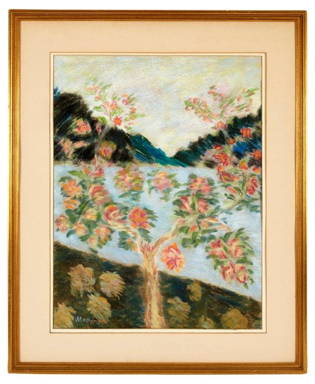 Impressionist Pastel, Flowers