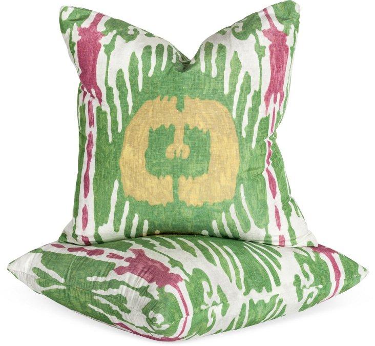 Oasis Pillows, Pair I