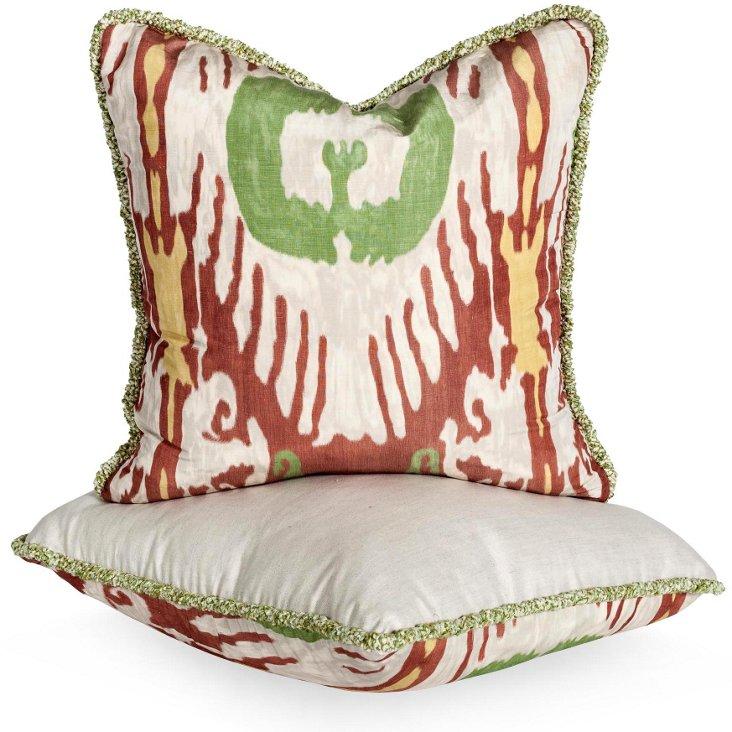 Oasis Pillows, Pair II