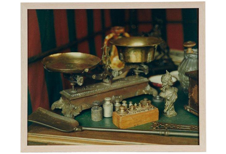 Brass Kitchen Utensils Photograph II