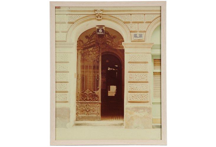 Paris Doorway Photograph