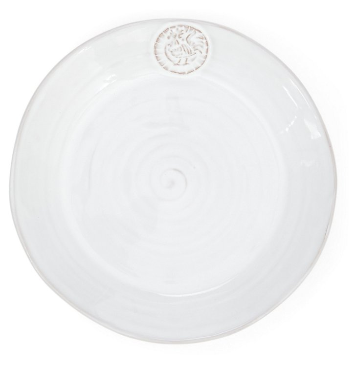S/4 Terracotta Rooster Salad Plates
