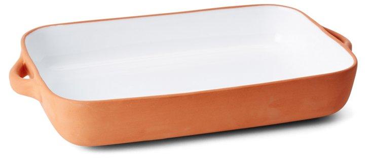 Rectangular Terracotta Baker, Large