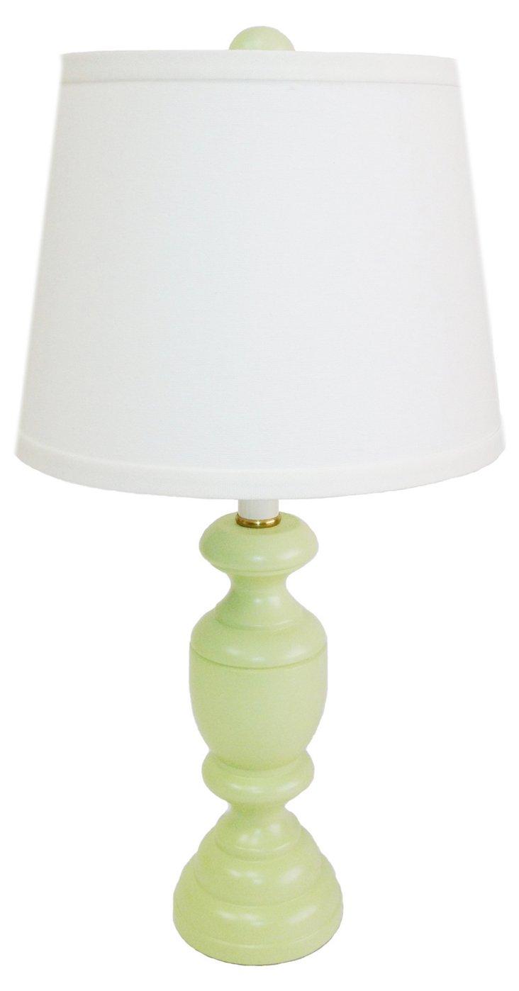 Randolph Accent Lamp, Sea Grass Green