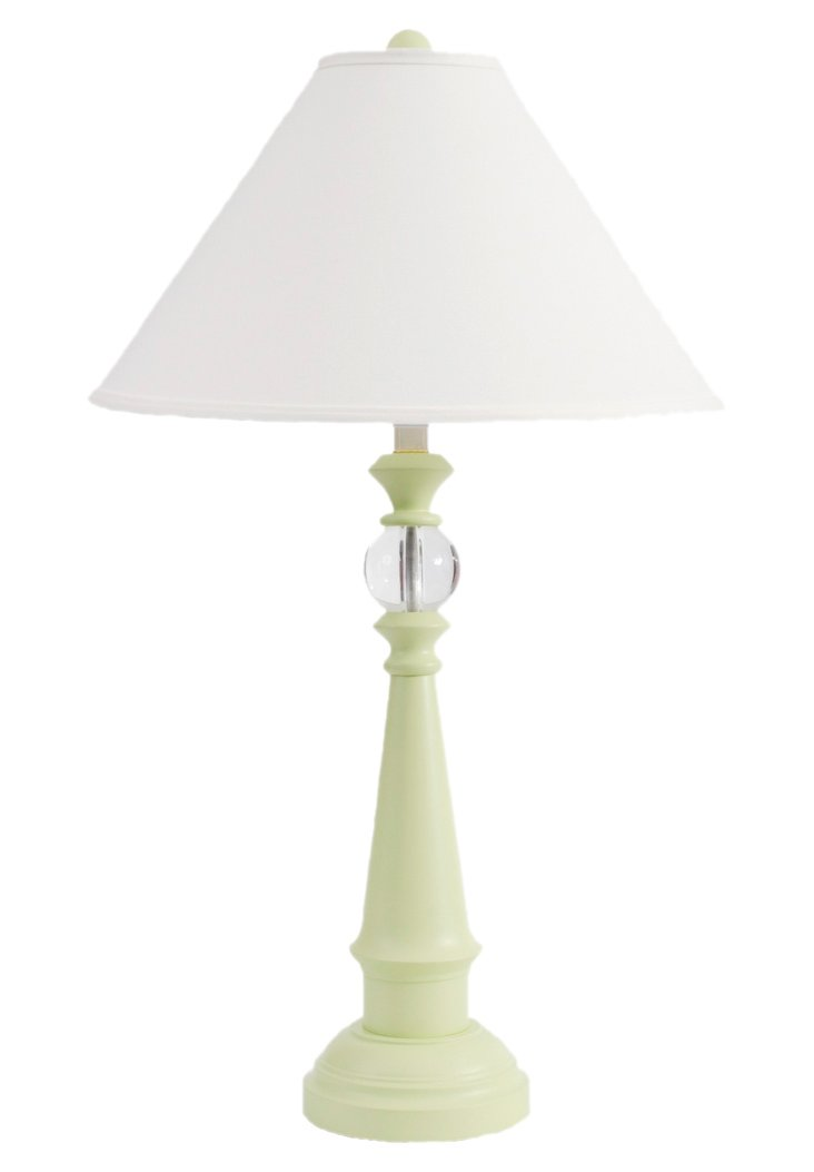 Ships Watch Table Lamp, Seagrass