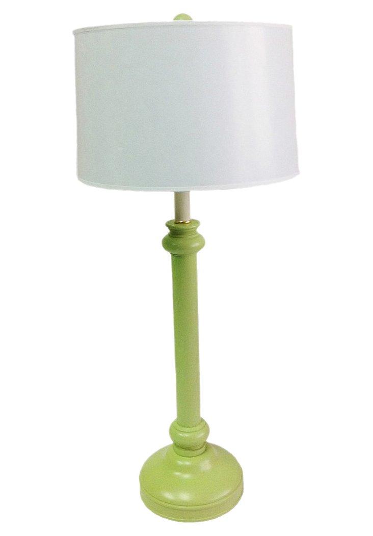 Craig Austin Candlestick Lamp, Sea Grass