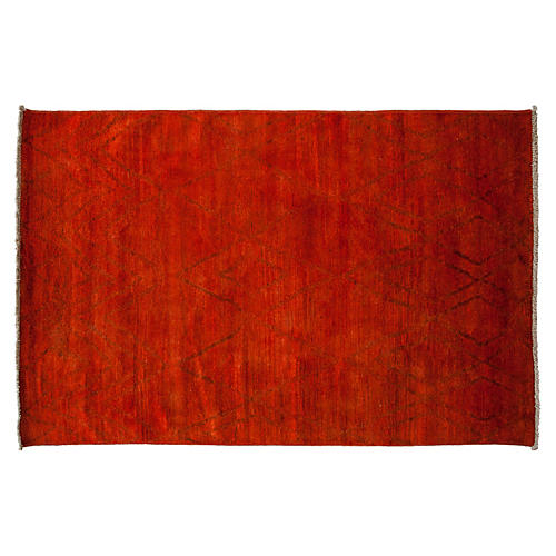 """5'10""""x8'10"""" Gaines Rug, Red"""