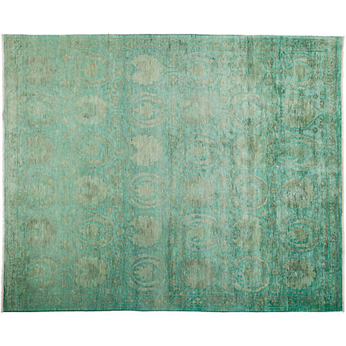 "8'2""x9'10"" Vibrance Rug, Green/Olive"