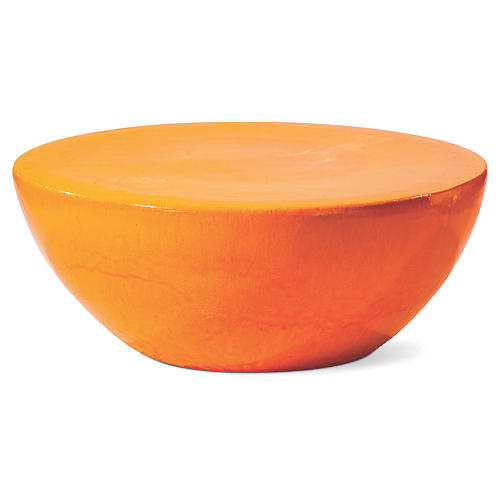 Bowness Outdoor Coffee Table, Orange
