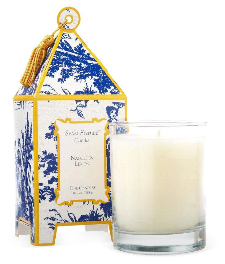 10 oz Pagoda Candle, Napoleon Lemon