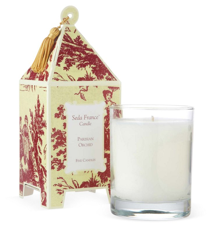 S/2 Pagoda Candles, Orchid