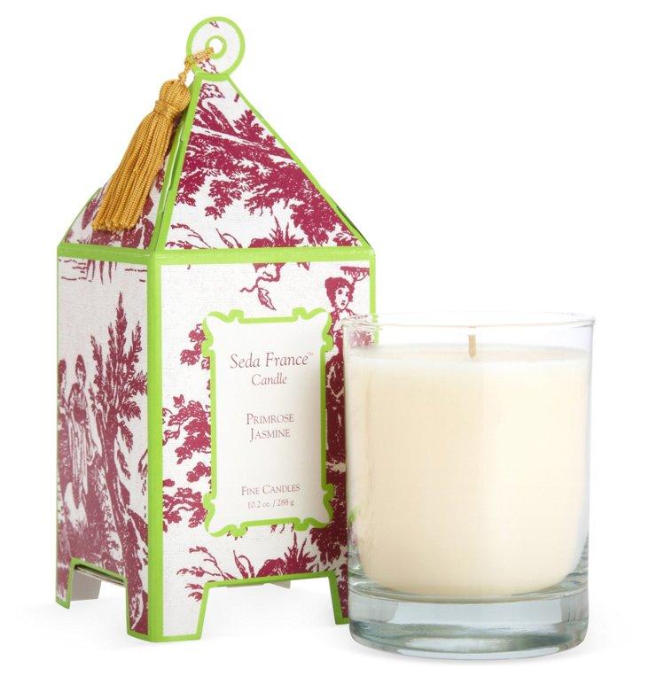 10 oz Pagoda Candle, Primrose Jasmine