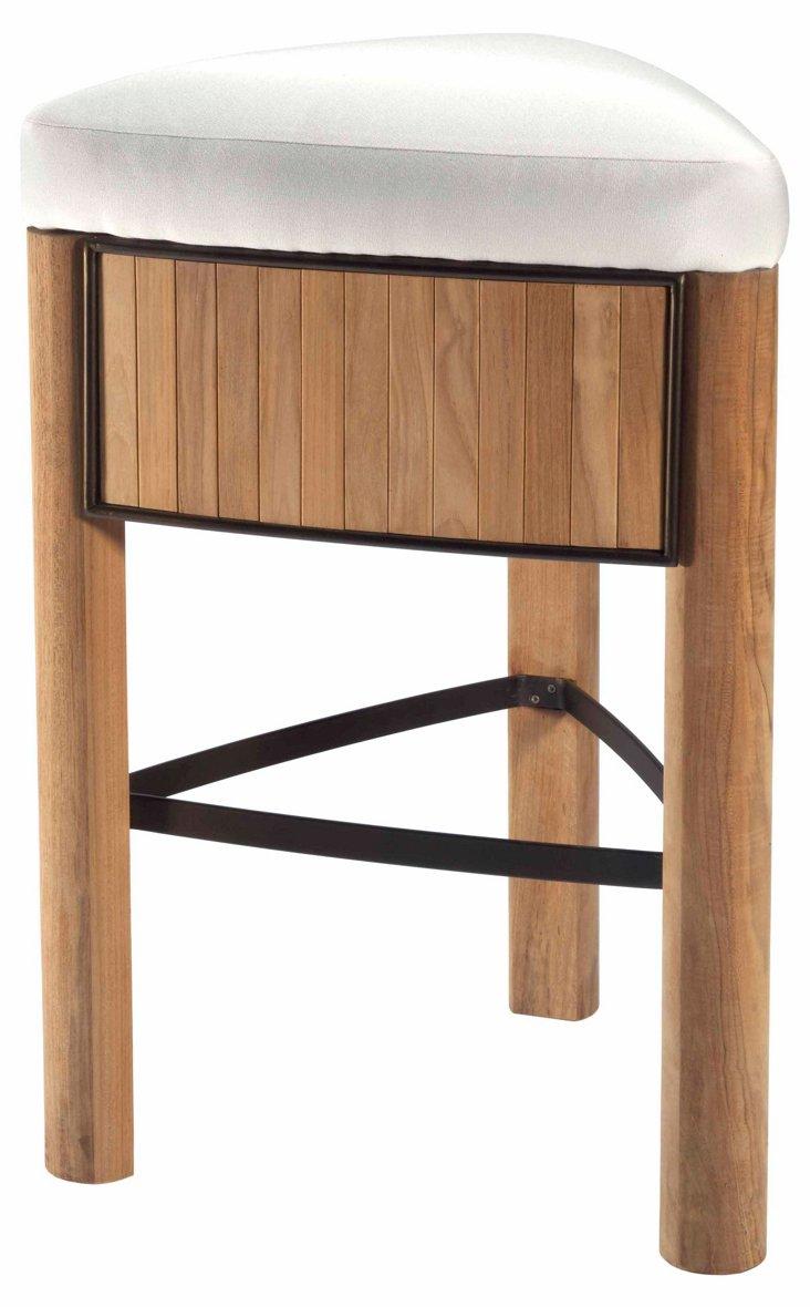 DNU, Disc Bronzewood Medium Stool