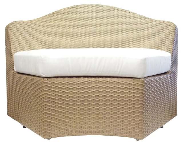 Dupont Outdoor Lounge Chair, Natural