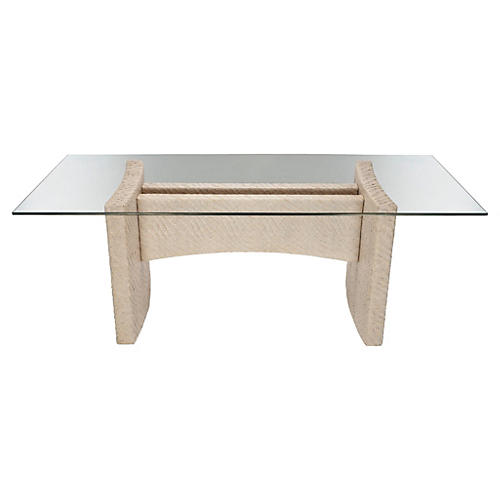 Vivienne Dining Table, Salt
