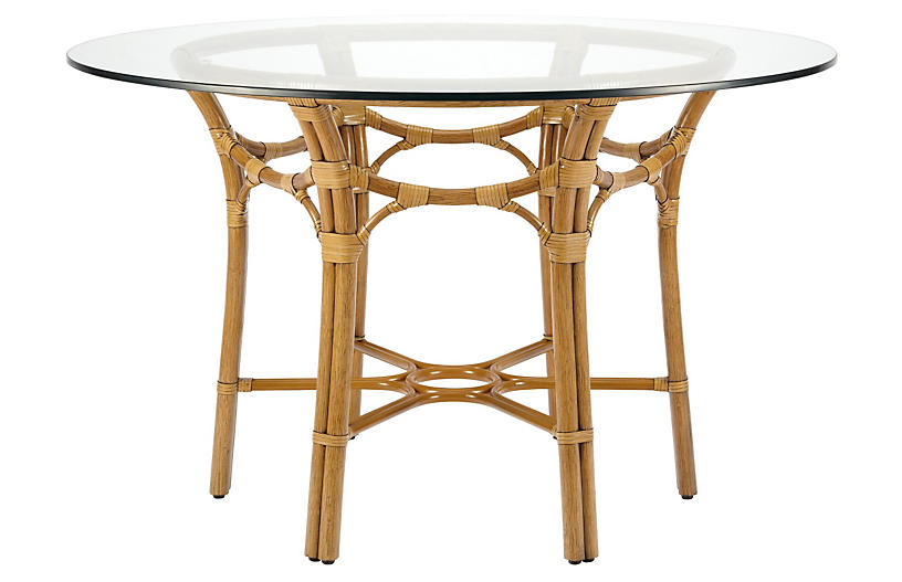 Clementina Dining Table, Nutmeg