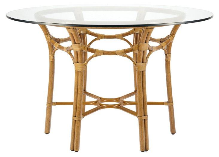 "Clementina 48"" Dining Table, Nutmeg"