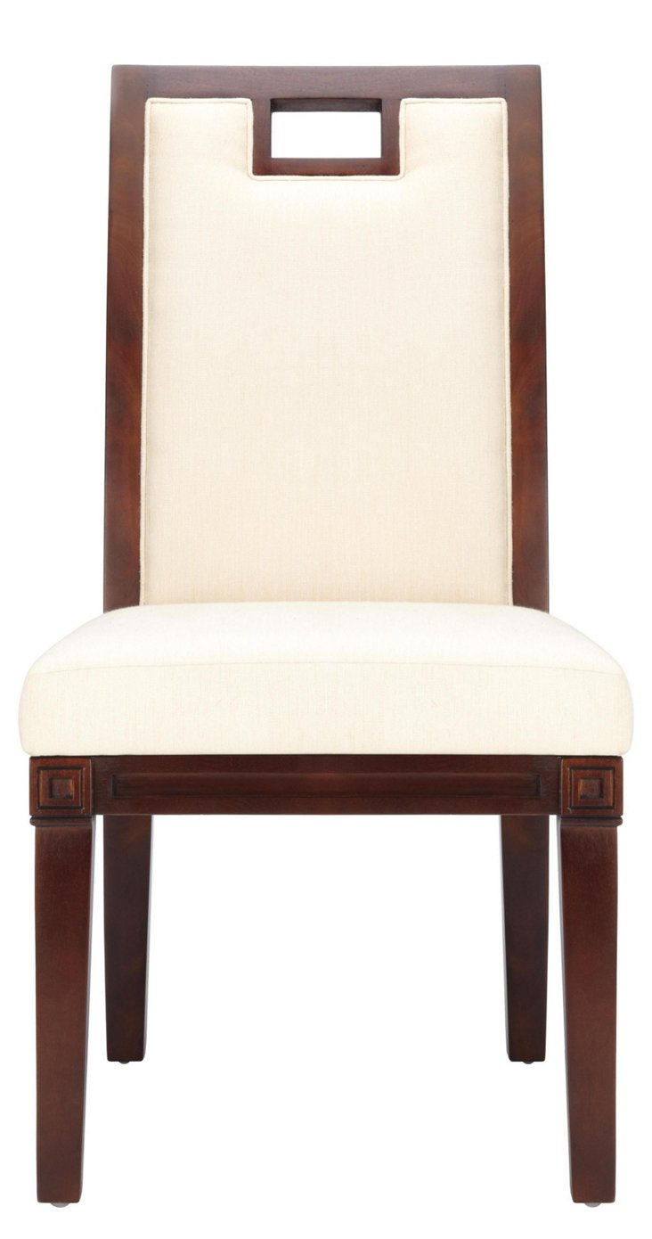 Mykonos Side Chair, Hazelnut