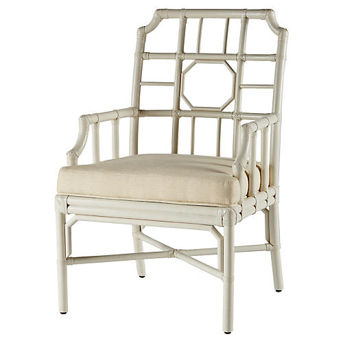 Regeant Armchair, White