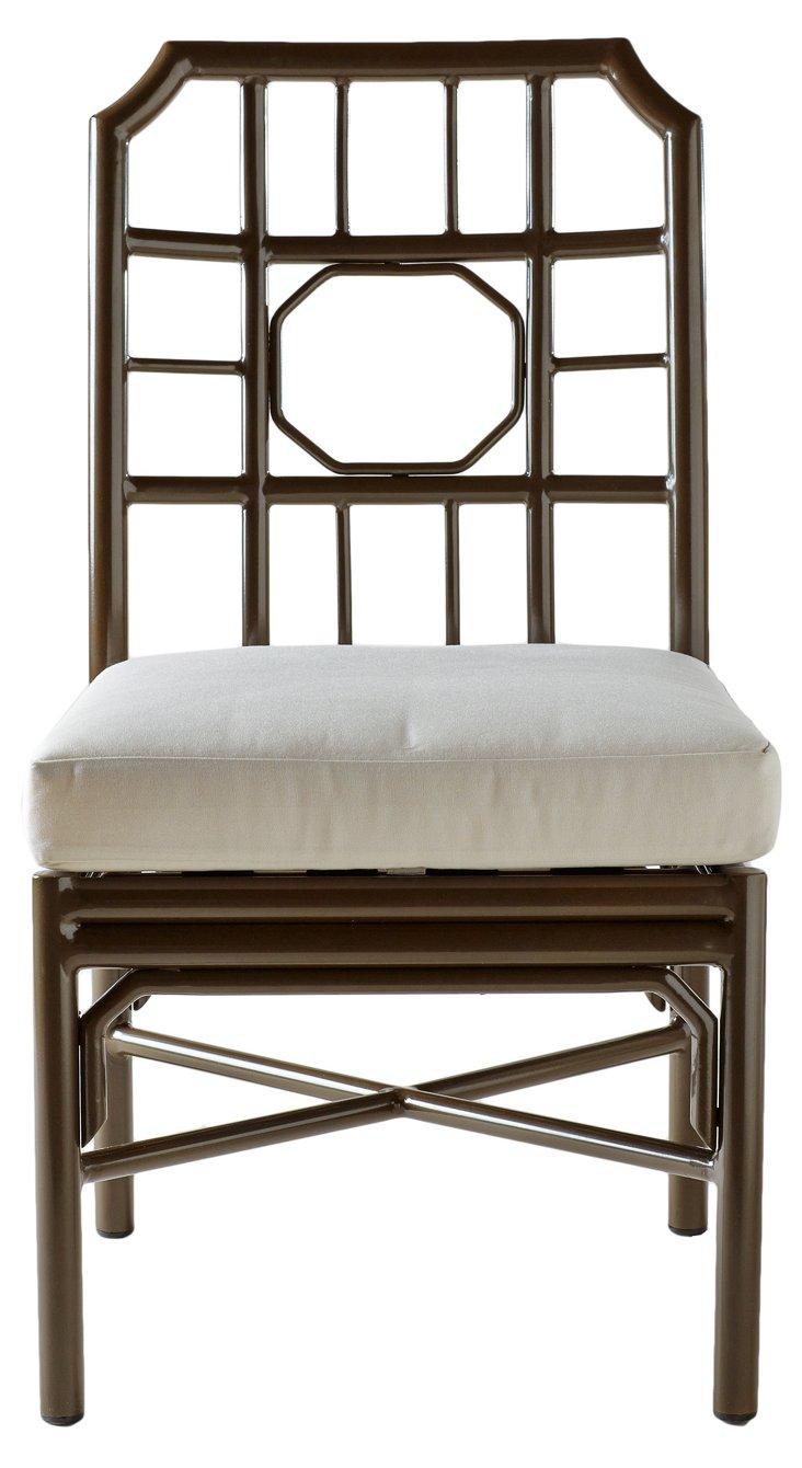 Milton 4-Season Side Chair, Bronze