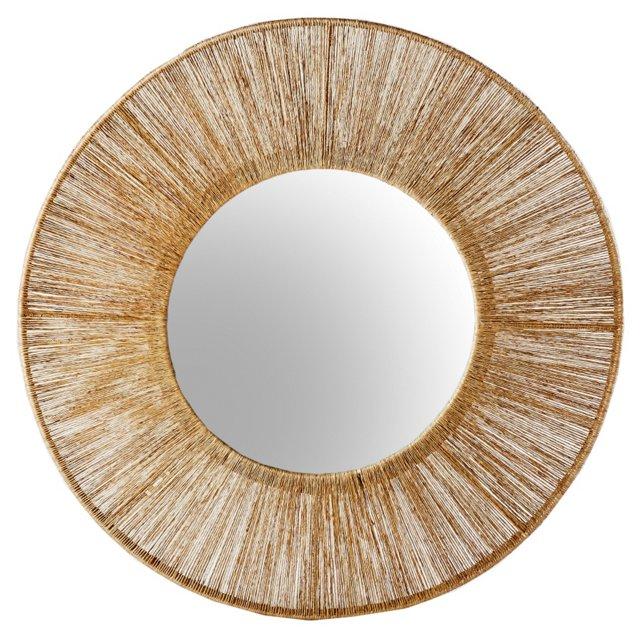 Anston Wall Mirror, Natural