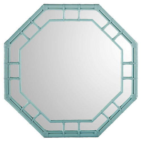 Ciaran Wall Mirror, Blue