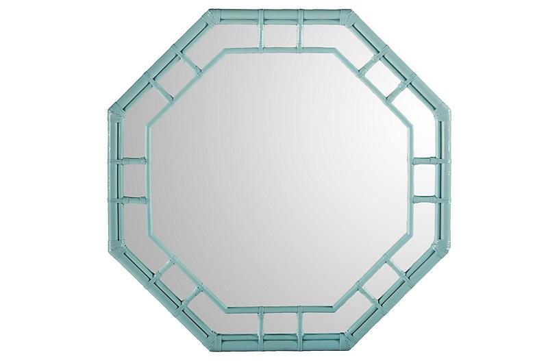 Ciaran Wall Mirror - Blue - Selamat