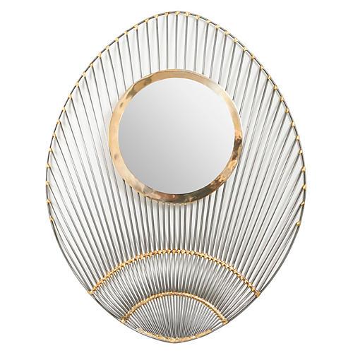 Shanghai Kabuki Mirror, Silver/Gold