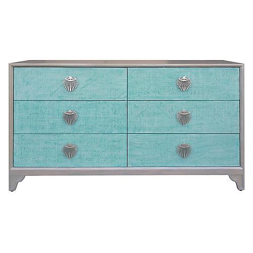 Shanghai Dresser, Gray/Jade