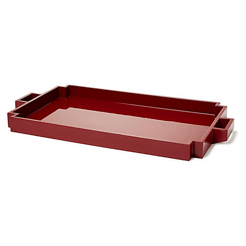 "23"" Wegner Serving Tray, Berry"