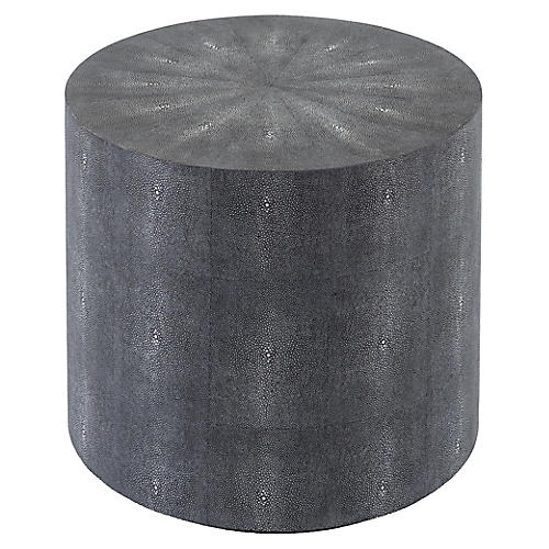 Breslin Side Table, Gray