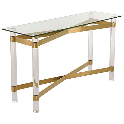 Tiana Console, Gold