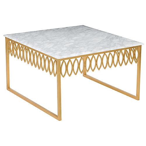 Natalia Coffee Table, Gold