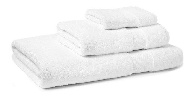 3-Pc Candido Towel Set, White