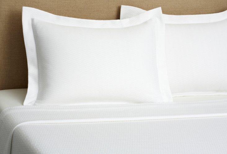 Morada Blanket Cover Set, White