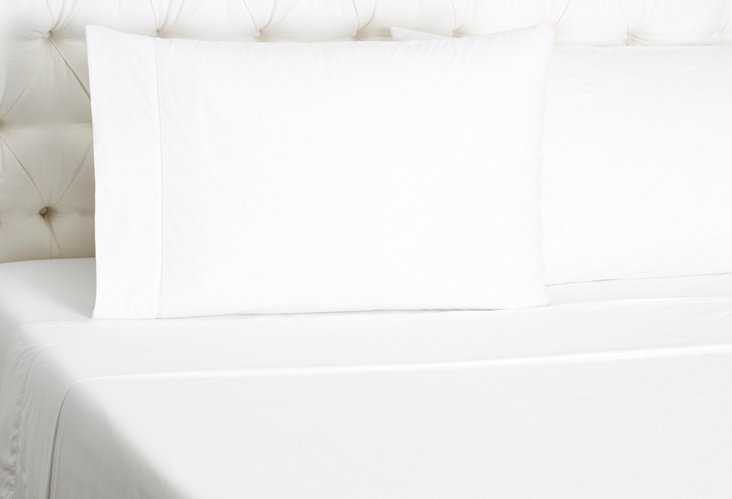 Matteo Sheet Set, White