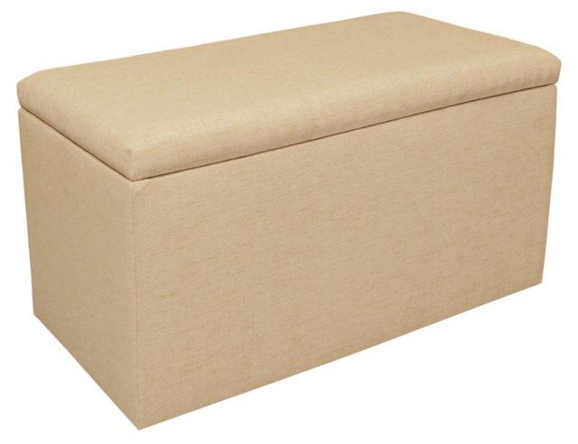 Stewart Storage Bench, Pale Khaki