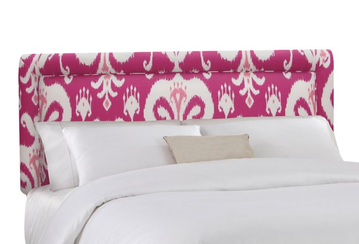 Collins Headboard, Raspberry