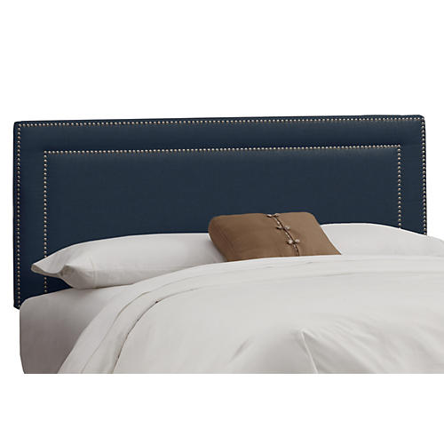 Bardot Headboard, Navy
