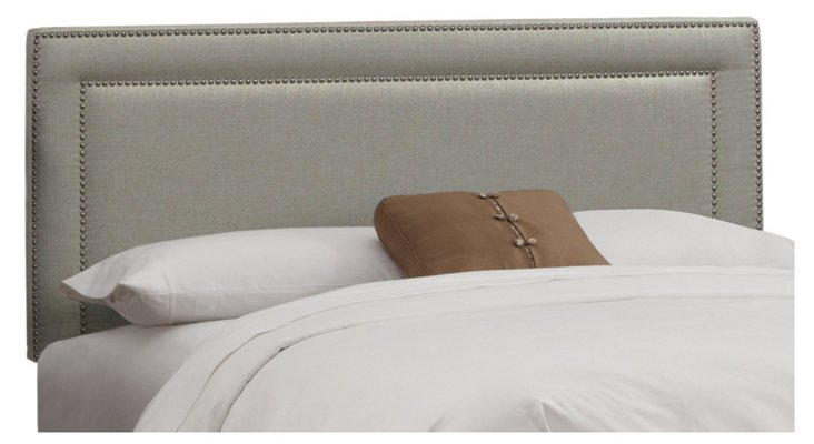 Bardot Headboard, Dove