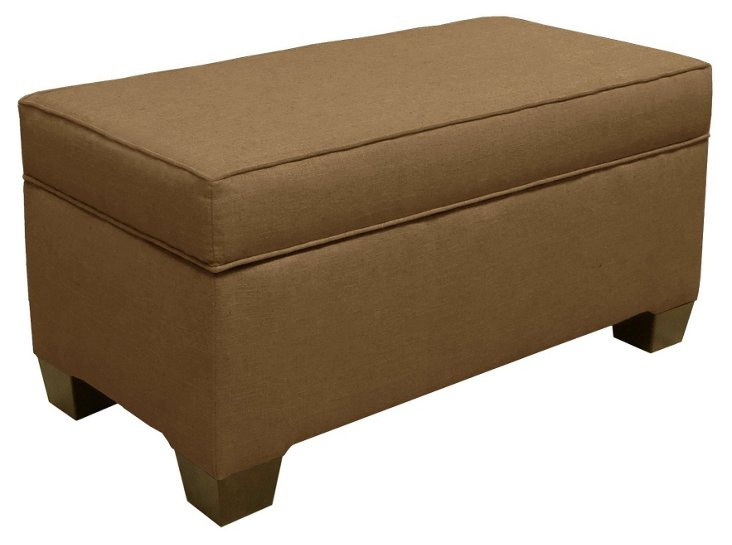Arthur Storage Bench, Burlap